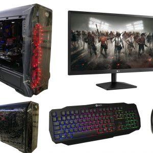 Výkonný Herní set i7 Red devil + monitor +myši + klávesnice