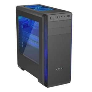 Evolveo T4, 6 jader (12), AMD RX 580 8GB, HDD+SSD, 16GB DDR4