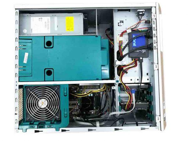 Fujitsu siemens Celsius R650, 2x Intel Xeon E5410 (8 jadro), 8GB DDR, SSD+HDD