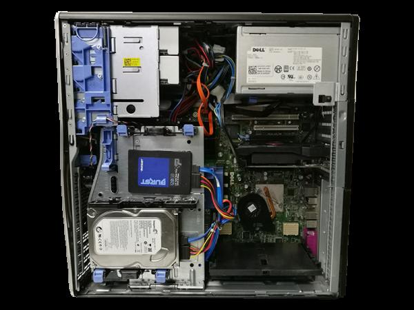 Herní Počitač DELL 8 jádro, RX 560 4GB, 10GB operační paměť, SSD, HDD, Win10