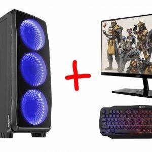 Herní PC sestava (SET) Genesis Titan 750  i7+ Monitor + klávesnice a myš