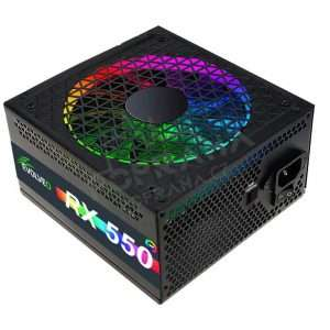 EVOLVEO RX 550 RGB LED 80Plus 550W