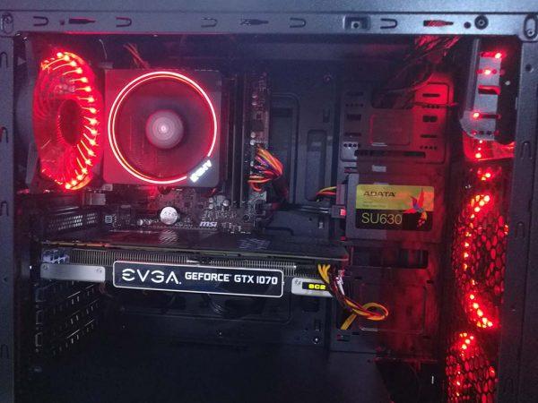 Genesys AMD Ryzen 5, GTX 1070 8GB, 16GB DDR4, 480GB SSD