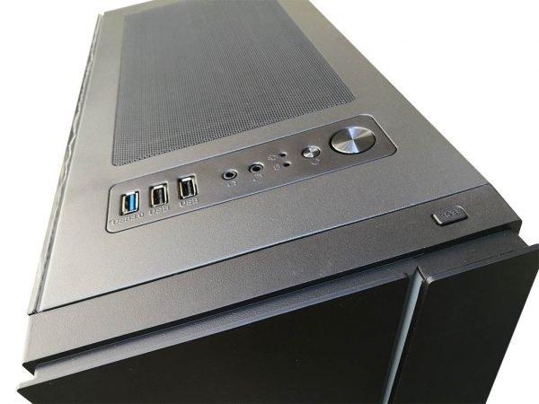 Stylový herní počítač RYZEN 5 2600, RX 570 8GB, 16GB DDR4, 480GB SSD