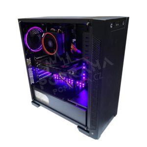 Herní sestava Armis TG-RGB AMD RYZEN 5 2600 – 240 SSD – 1TB HDD – RX 590 Phantom 8GB – DDR4