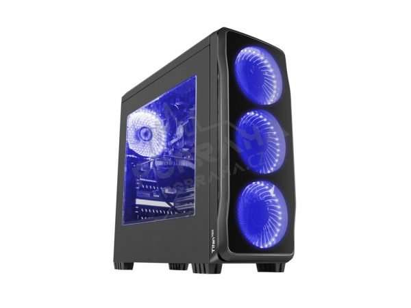 Herný počítač Genesis Titan 750 - i7 6700 - 480GB SSD - 500GB HDD - RX 580 4GB