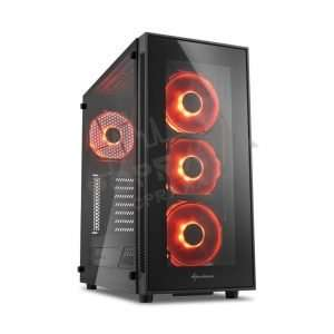 Computer for players Sharkoon TG5 i9-9900KF / SSD 960 / HDD 4TB / 32GB DDR4 / RTX 2080TI / NZXT