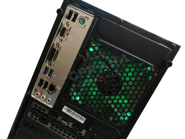 Počítač progaming Sharkoon VG5 – 9 generace 9400F 4,1 GHz, RX 5700 Ultra, SSD + HDD