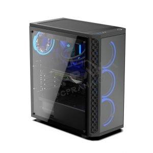 Herní Počítač Signum SG1X TG RGB – RYZEN 5 2600 SSD 480GB HDD 2TB 16GB DDR4
