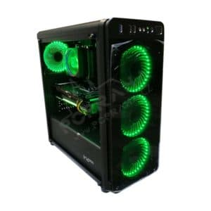 Ordinateur de jeu Genesis 300 / AMD RYZEN 7 2700X / 2480 Go / SSD / HDD / GeForce RTX 2070 Phantom 8 Go