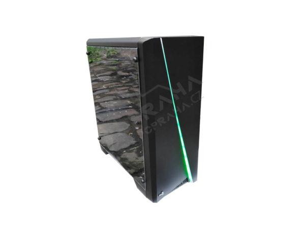 Herní PC AeroCool / RYZEN 3 / GTX Pegasus 1660 6gb / 8GB DDR4 2666 MHz / SSD 240GB