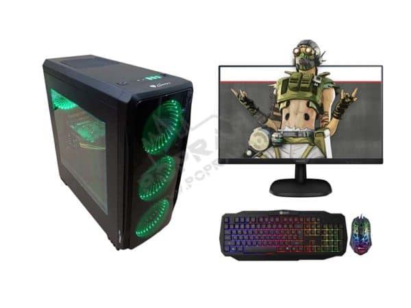 Nejlevnější Herní PC sestava / DDR4 8GB / i3-9100F 4,2 GHz / RX 570 / SSD + Monitor + klávesnice a myš