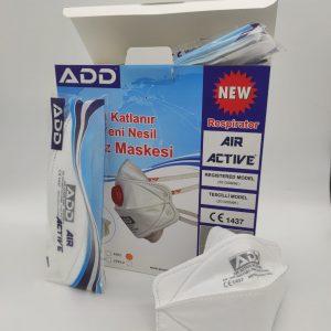 Respirátor FFP3 ADD Air Active 5500 FFP3 NR D bez ventilu