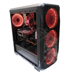 Gaming PC / i7 6700K / 16GB DDR4 3200MHz / 480GB SSD / RX 590 8GB / Genesis