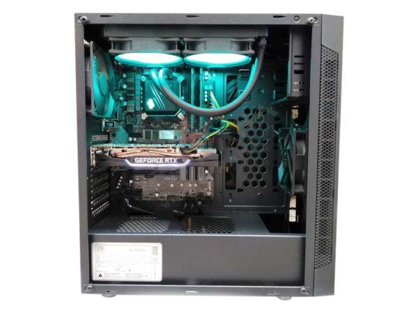 Herní PC / i7 8700 es / 16GB DDR4 3200MHz / 512GB SSD / XFX RX 5700 Ultra / 2TB HDD top
