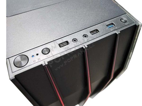 Herní PC – Ryzen 7 2700/ ASRock X570/ Aerocool Klaw/ 4TB /500GB SSD/ PNY GeForce RTX 2060 SUPER 8GB/ 16GB 3000Mhz