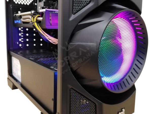 Iron Herní počítač Rx 570 4GB PLUS / 8GB DDR4 2666MHz / 240GB SSD / Ryzen 3 1200 – odemčeny