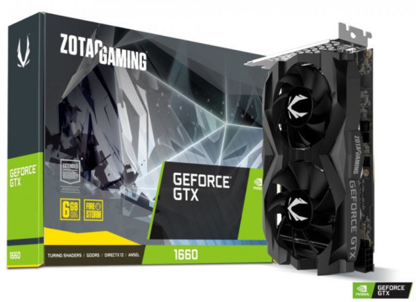 Grafická karta Gaming GeForce GTX 1660 Twin Fan 6