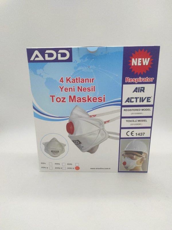 ADD Air Active 5510 FFP3 V NR D (25ks)