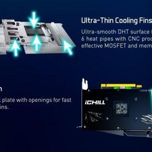 INNO3D GeForce RTX 3070 iCHILL X3 8Go GDDR6X