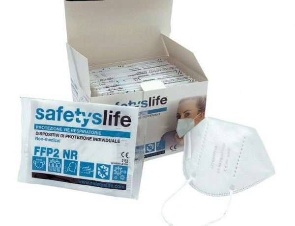 Respirátor SAFETYSLIFE FFP2 NR
