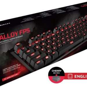 HyperX Alloy FPS Pro Red Mechanical Gaming Keyboard – US