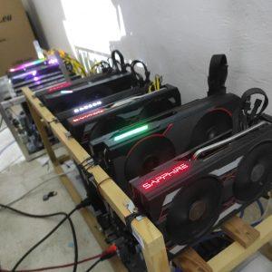 Ethereum Mining Rig 6x RX 5700